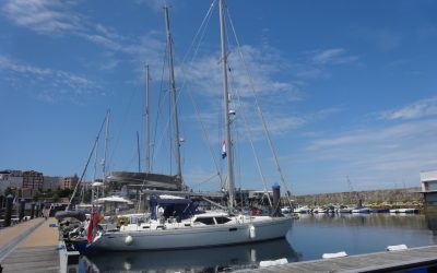 """""""SAILING IN RALLY"""", A LETTER TO MARINA CORUÑA"""